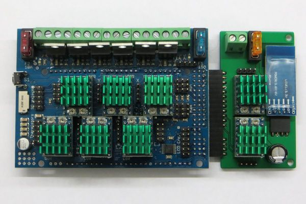 RADDS + Extension board