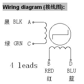 Stepper motors radds electronics for 3d printer wiring diagram for wantai 42byghw609 stepper motor from wantamotor asfbconference2016 Gallery